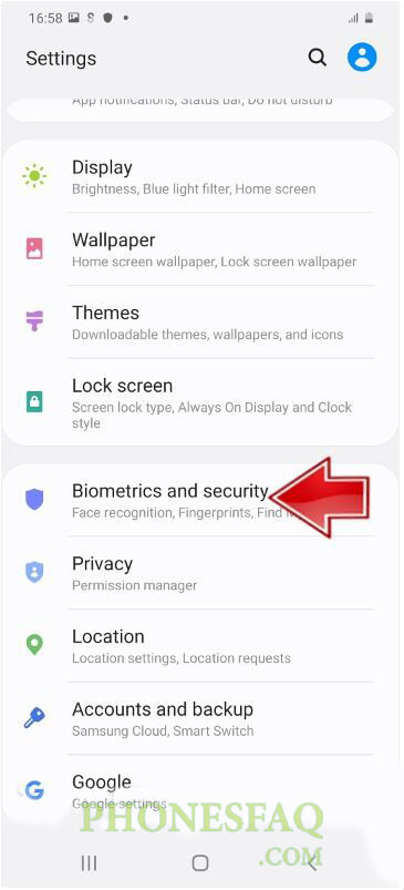 How to Add Face Unlock in Samsung Galaxy M51 Biometrics and security